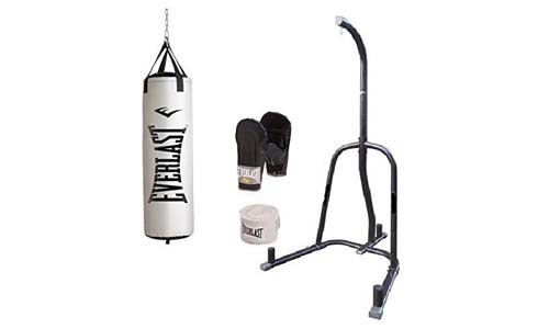 Beastly Gen Trainers and Everlast Punching Bag