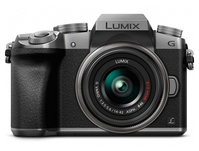 PANASONIC LUMIX G7 4K Mirrorless Camera (USA SILVER)