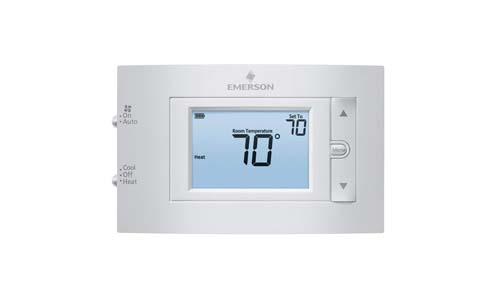 Emerson 1F83C-11NP Conventional (1H/1C) Non-Programmable Thermostat