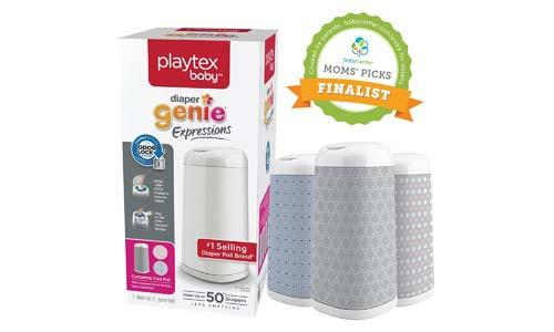Playtex Diaper Genie Expressions Customizable Diaper Pail
