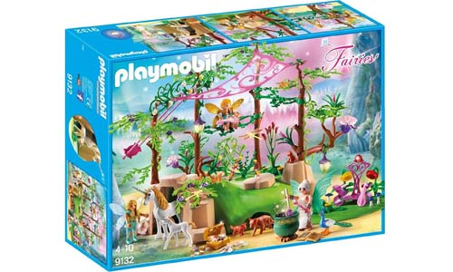 PLAYMOBIL® Magical Fairy Forest Playset, Multicolor