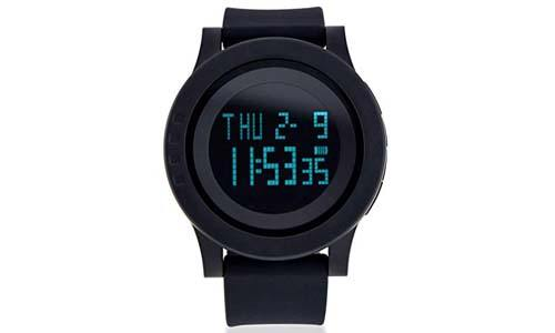 Oct17 Digital Waterproof Sports Watch Electronic Military LED Sport Running Watch Multifunction Wrist Stopwatch