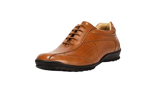 Liberty Men's Handmade Leather Walking Casual Shoes