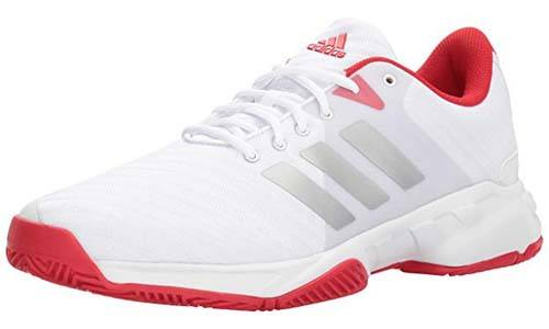 The Adidas Men's Barricade Court 3 Tennis Shoe