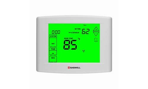 Saswell 7 days Programmable Touch Screen Thermostat