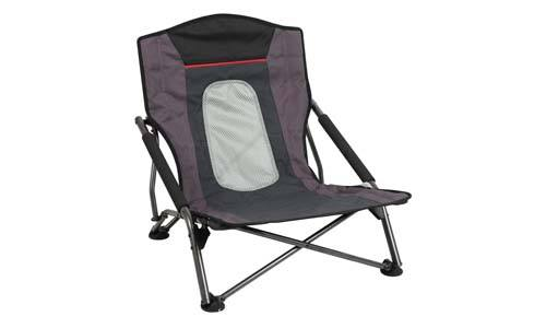 PORTAL Lightweight Low Gravity Mountaineer Folding Camp Chair with Carrying Bag