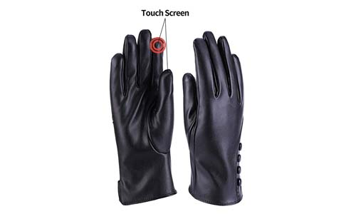 Powergloves Winter Leather Gloves