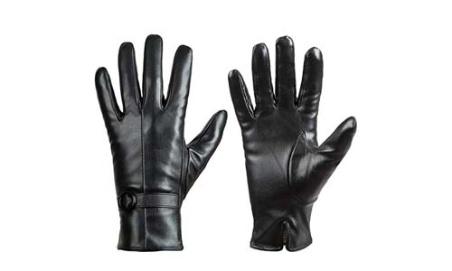 Dsane Womens Winter Leather Driving Gloves