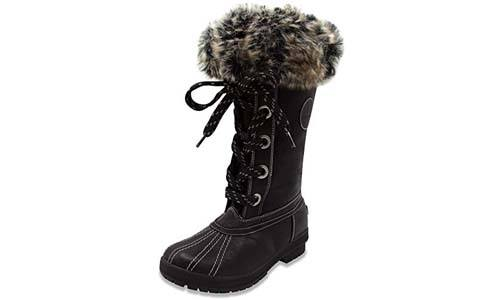 London Fog Women's Cold Weather Snow Boot