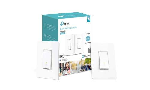 TP-Link Kasa Smart Wi-Fi Light Switch, 3-Way (HS210 KIT), 1-Pack, White