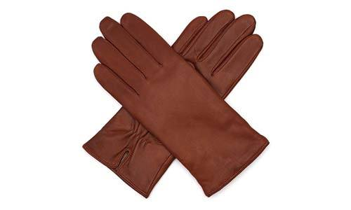 Harssidanzar Womens Italian Leather Glove