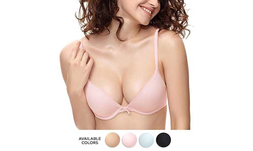 Eve's temptation Raphael Women's Push up Seamless T-Shirt Bra