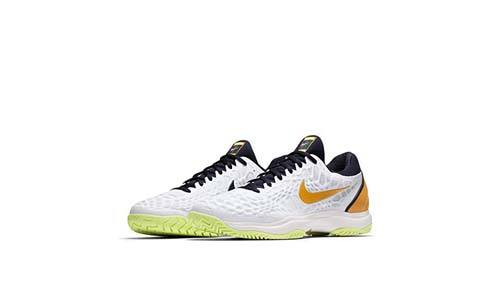 The Nike Mens Zoom Cage 3 Tennis Shoes