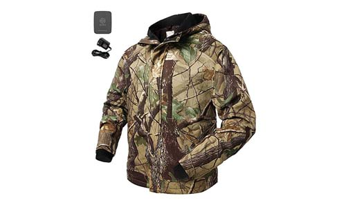 Ororo's Men's Hunting Camo Jacket