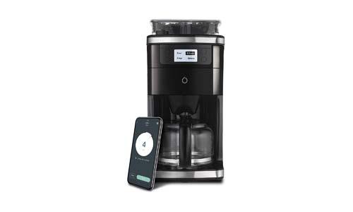 Smarter SMCOF01-US 1 2 Cup Wi-Fi Coffee-maker