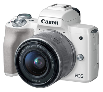 Canon EOS M50 Mirrorless Camera(White Finish)