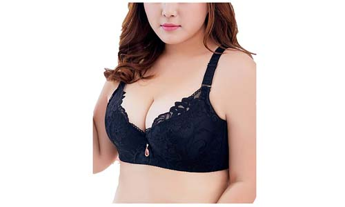SEA BBOT Women Lace Push-up Bra