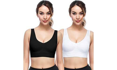 ZOUYUE Comfortable Removable Padded Sleep Bras