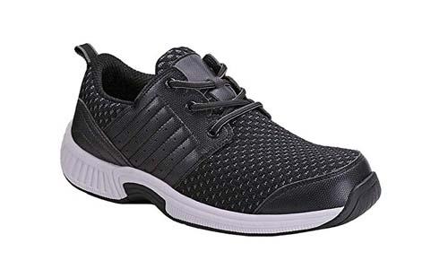 Orthofeet Proven Pain Relief Tacoma Comfortable Plantar Fasciitis Orthopedic Diabetic Flat Feet Bunions Men's Walking Shoes
