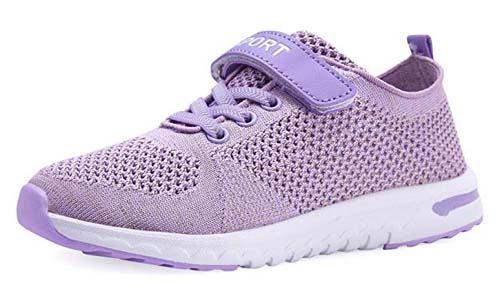 KARIDO Kids Lightweight Breathable Jogging Shoes