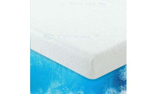 LuxLiving 2.5-inch COOLING Gel-infused Foam Mattress Topper