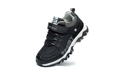 Feetmat Jogging Footwear for Kids Water Proof Outdoor Hiking Athletic Sneakers