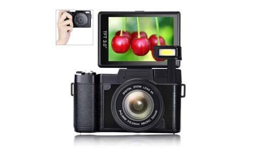 SUNLEA 24.0MP 3.0 inch Vlogging camera