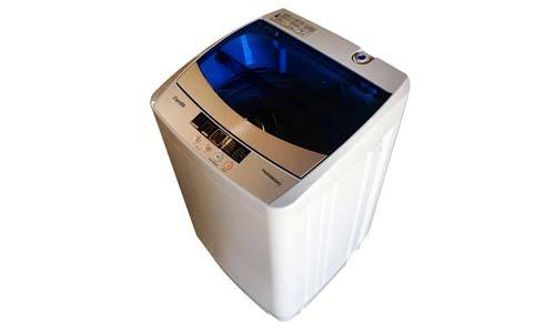 Panda Portable Compact Top Load Washer, 1.6cu.ft, PAN56MGW2, Wash, Rinse, Spin and Drain Fully Automatic Washing Machine 120V