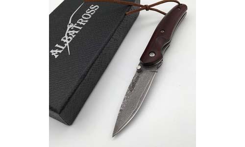 Albatross 6.38'' Handmade VG10 Damascus Knife