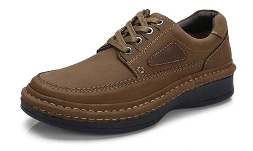 Mens Oxfords Business Casual Shoes Genuine Leather Handmade Lightweight and Comfortable Walking Shoes for Men
