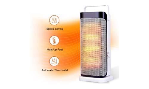 Air Choice Oscillating Ceramic Space Heater