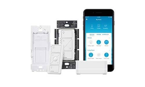 Lutron Caseta Wireless Smart Lighting Single Pole Dimmer