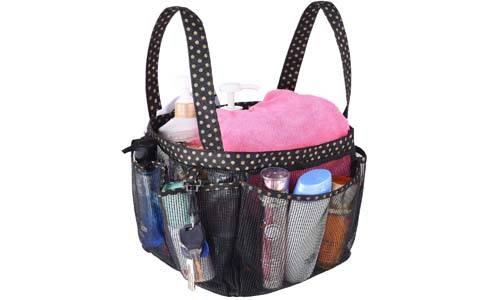Haundry Mesh Tote Bag 8 Pocket Shower Caddy