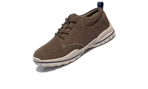 CAMEL CROWN Mens Lightweight Walking Shoes Casual Sneakers Breathable Leather Outdoor Sports Gym Shoes