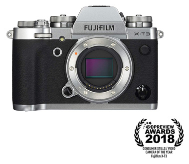 Fujifilm X-T3 Mirrorless Digital Camera(Silver Finish)