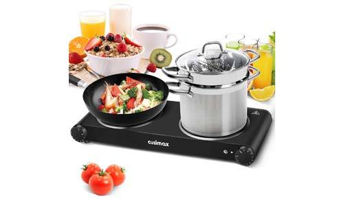 Cusimax Portable Double Burner