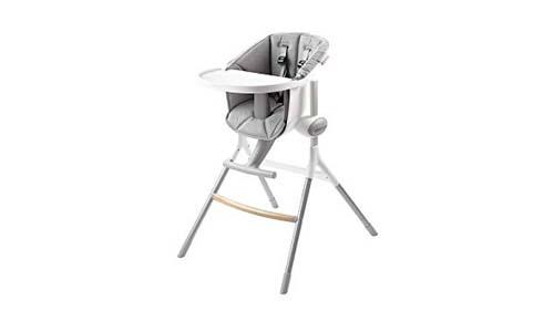 BEABA Up & Down High Chair - Gray