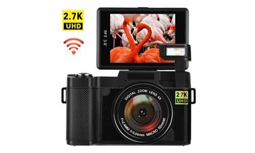 COMI Digital Vlogging Camera with Wi-Fi 24.0 MP