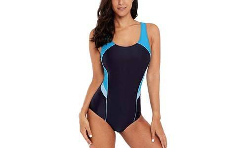 CharmLeaks Women's Pro Athletic One Piece Swimsuit Racerback One Piece Swimwear