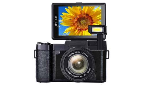 SUNLEA Vlogging Camera