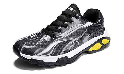 COSDN Men's Stylish Outdoor Performance Impact Moderation Basketball Shoes
