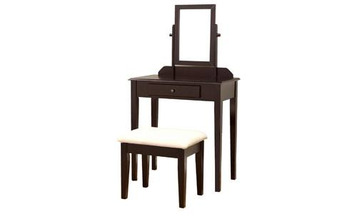 1frenchi Furniture Wood 3 Pc Vanity Set