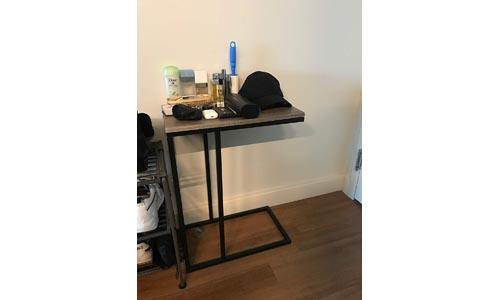 Chrome Snack Side End Table