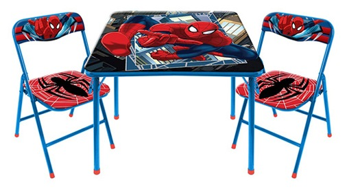 Marvel Spider-Man 3-Piece Table