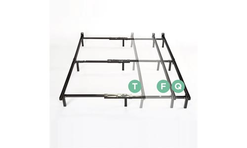 Zinus Michelle Compack Adjustable Steel Bed Frame