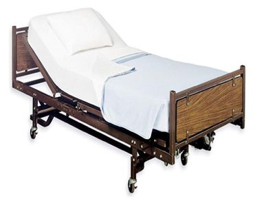 White Classic Fitted Hospital Bed Sheets