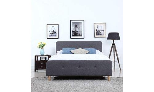 Divano Roma Furniture Mid Century Bed Frame