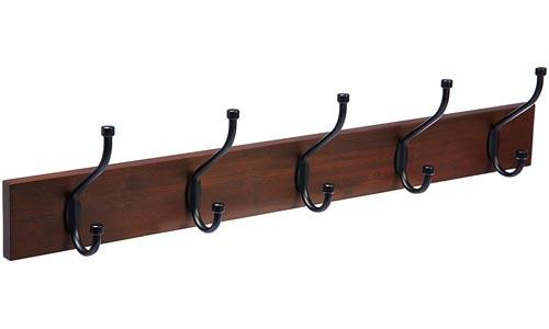 AmazonBasics-Wall Mounted Coat Rack