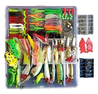 Topconcpt 275pcs Freshwater Fishing Lures