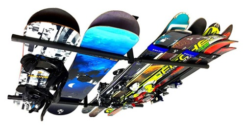 StoreYourBoard Ski & Snowboard Ceiling Storage Rack